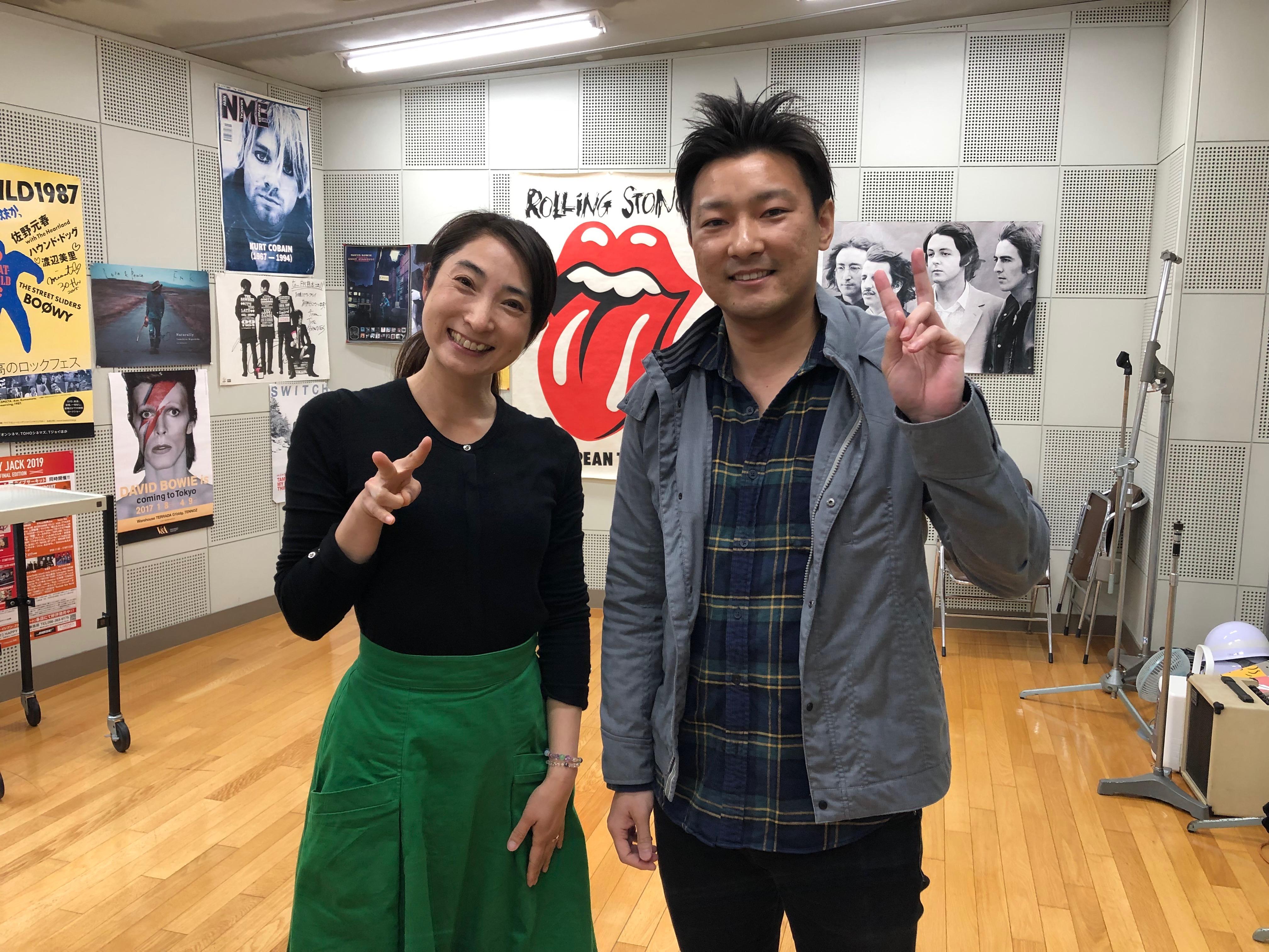FMKラジオ出演(4/16)