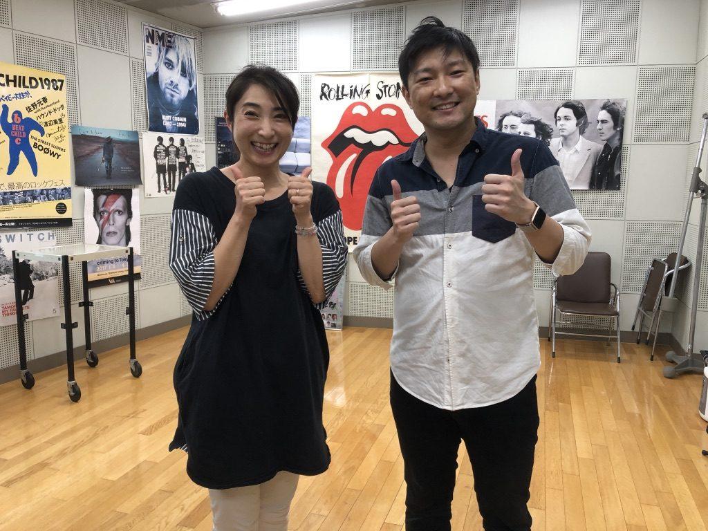 FMKラジオ出演(8/20)